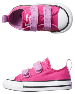MAGENTA FUCHSIA KIDS TODDLER GIRLS CONVERSE FOOTWEAR - 756016MGFW