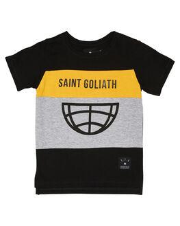 BLACK KIDS BOYS ST GOLIATH TOPS - 2832005BLK
