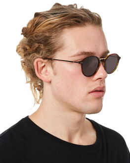 POLISHED TORT MENS ACCESSORIES LOCAL SUPPLY SUNGLASSES - STADIUMTLP1