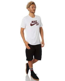 WHITE MENS CLOTHING NIKE TEES - 821946105