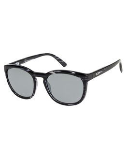 SHINY HAVANA BLACK WOMENS ACCESSORIES ROXY SUNGLASSES - ERJEY03073XKSS