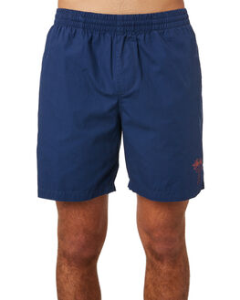 DARK NAVY MENS CLOTHING STUSSY BOARDSHORTS - ST081610DNVY
