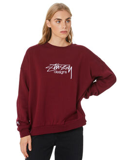 GRAPEVINE WOMENS CLOTHING STUSSY JUMPERS - ST106315GRAPEV