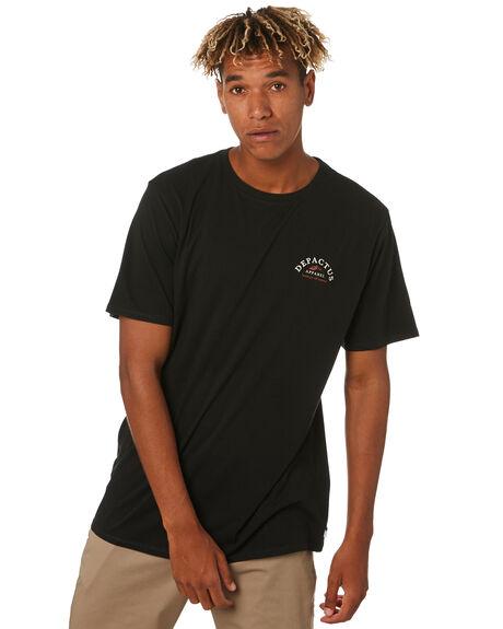 BLACK MENS CLOTHING DEPACTUS TEES - D5203000BLACK