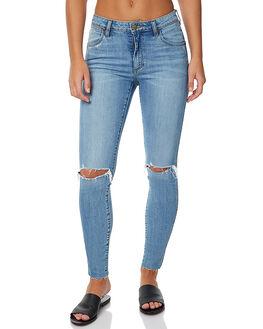 ARIZONA BLUE WOMENS CLOTHING WRANGLER JEANS - W-950827-DA1ARIZ