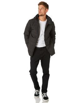 BLACK MENS CLOTHING BILLABONG JACKETS - 9595917BLK