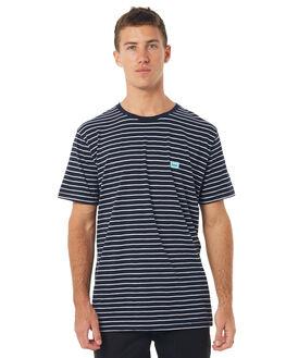 NAVY STRIPE MENS CLOTHING BARNEY COOLS TEES - 110-MC4NSTRP