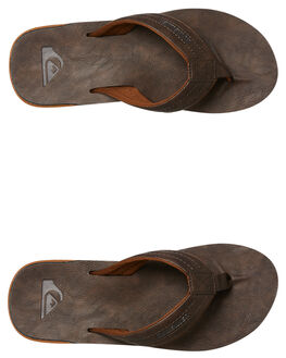DEMITASSE - SOLID MENS FOOTWEAR QUIKSILVER THONGS - AQYL100623CTK0