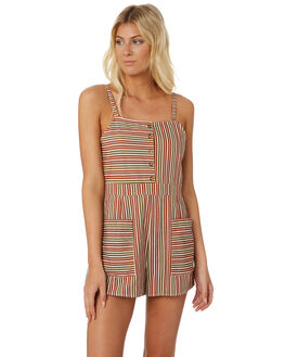 STRIPE OUTLET WOMENS THE HIDDEN WAY PLAYSUITS + OVERALLS - H8182448STRIP