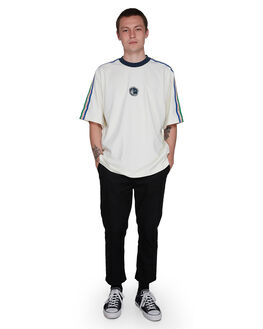 WASHED WHITE MENS CLOTHING ELEMENT TEES - EL-107027-WW4