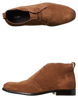 TAN MENS FOOTWEAR URGE BOOTS - URG16018TAN