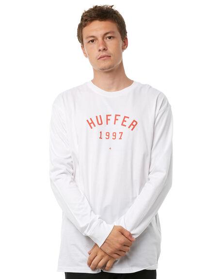 WHITE MENS CLOTHING HUFFER TEES - MLS81S660-544WHT