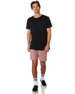 MAUVE MENS CLOTHING BRIXTON SHORTS - 04090MAUVE