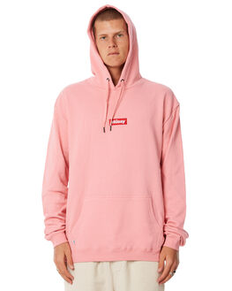 CANDY PINK MENS CLOTHING STUSSY JUMPERS - ST085202CPINK