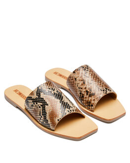 SNAKE WOMENS FOOTWEAR SOL SANA SLIDES - SS201W335SNAKE