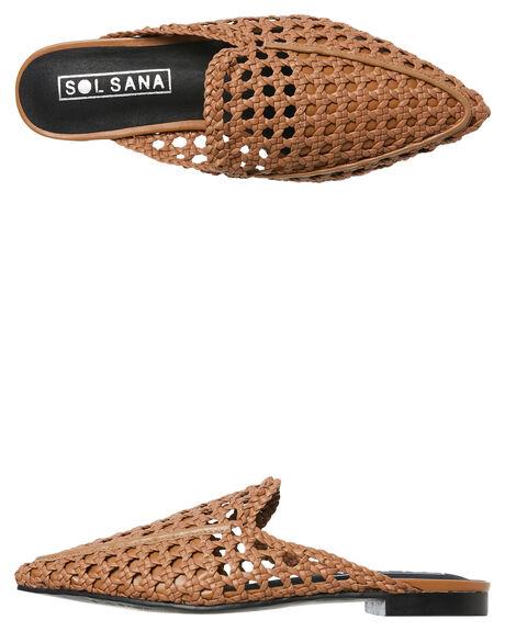 TAN WOMENS FOOTWEAR SOL SANA FLATS - SS181S313TAN