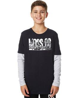 CARBON KIDS BOYS MOSSIMO TEES - 3M75BKCAR