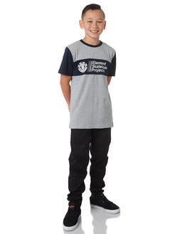 GREY MARLE KIDS BOYS ELEMENT TEES - 383003GRYM