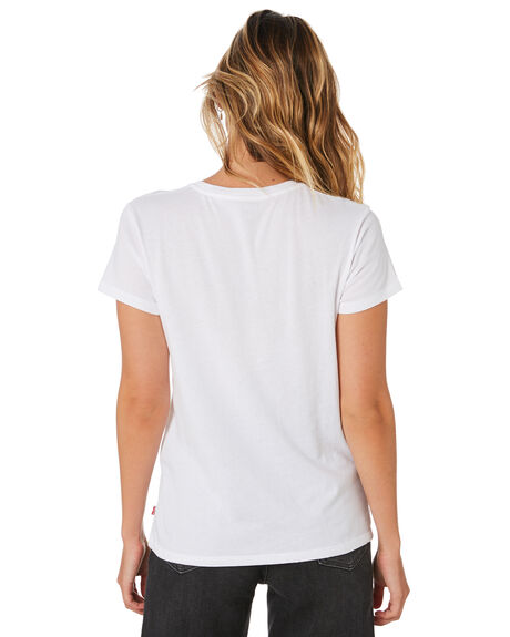 WHITE WOMENS CLOTHING LEVI'S TEES - 17369-0053WHT
