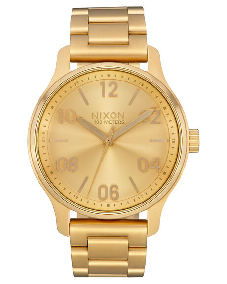 ALL GOLD MENS ACCESSORIES NIXON WATCHES - A1242-502