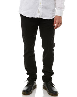BLACK MENS CLOTHING ACADEMY BRAND PANTS - 18W109BLK