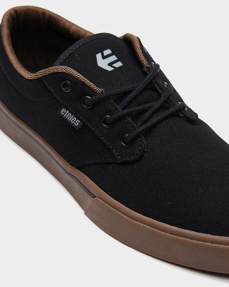 BLACK CHARCOAL GUM MENS FOOTWEAR ETNIES SNEAKERS - 4101000323558