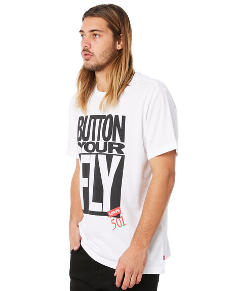 WHITE OUTLET MENS LEVI'S TEES - 55726-0001