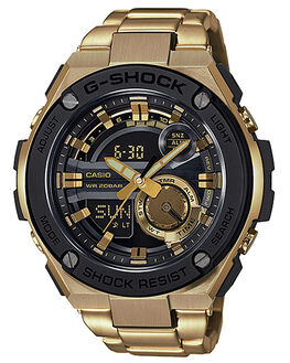 GOLD MENS ACCESSORIES G SHOCK WATCHES - GST-210GD-1AGLD