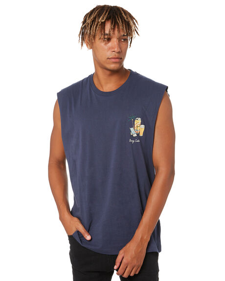 SLATE MENS CLOTHING BARNEY COOLS SINGLETS - 129-0221SLT