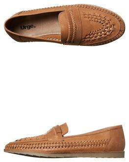 CHOC OILY MENS FOOTWEAR URGE SLIP ONS - URG15128CHOC