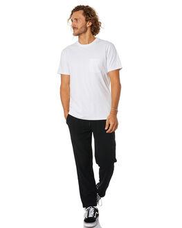 BLACK MENS CLOTHING RUSTY PANTS - PAM1005BLK