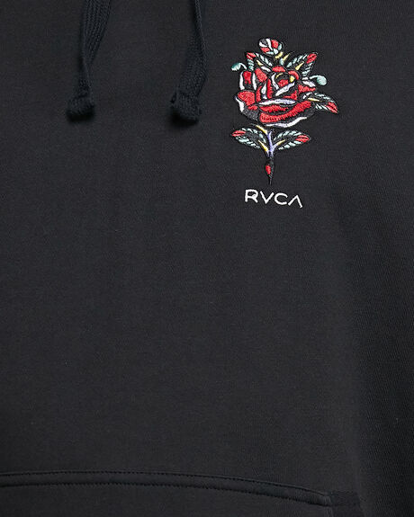 BLACK MENS CLOTHING RVCA JUMPERS - RV-R108152-BLK