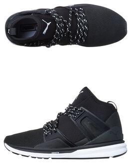 BLACK WHITE MENS FOOTWEAR PUMA SNEAKERS - 36312-601
