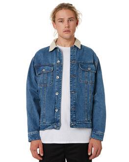 BLUE MENS CLOTHING SILENT THEORY JACKETS - 4090314BLU