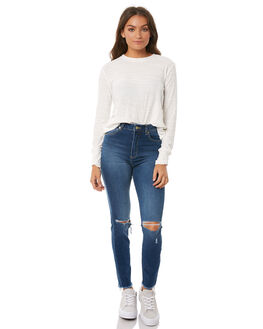 MID SUMMER WOMENS CLOTHING A.BRAND JEANS - 710913585