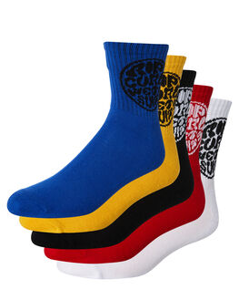 BRIGHT MENS CLOTHING RIP CURL SOCKS + UNDERWEAR - CSODF18816