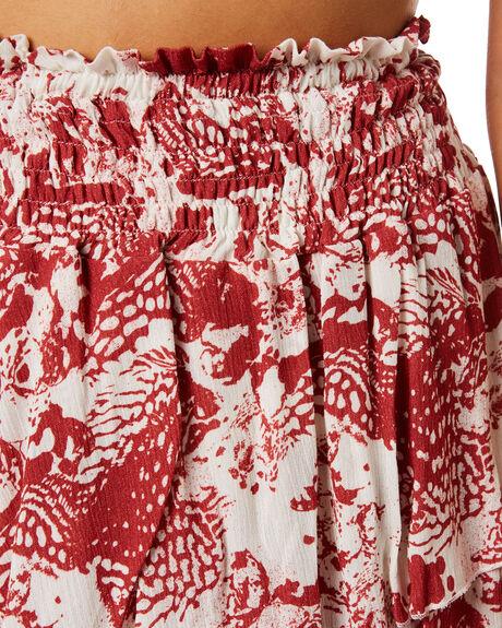 RUST PRINT WOMENS CLOTHING ELWOOD SKIRTS - W946106KJ