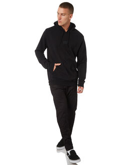 BLACK MENS CLOTHING RVCA JUMPERS - R181153BLK