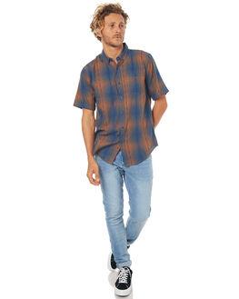 HEATHER CHARCOAL MENS CLOTHING EZEKIEL SHIRTS - ES171038HTRC