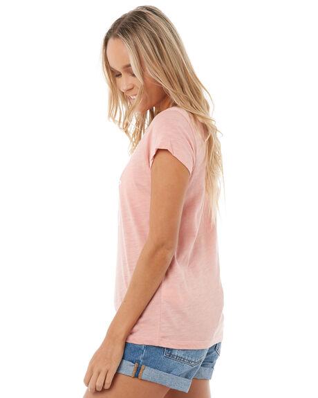 ROSE TAN WOMENS CLOTHING ROXY TEES - ERJZT04175MHB0