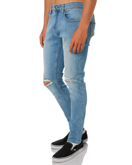 OASIS RIP MENS CLOTHING LEE JEANS - L-606562-MH4OARIP