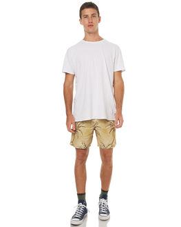 TAN MENS CLOTHING STUSSY SHORTS - ST072608TAN