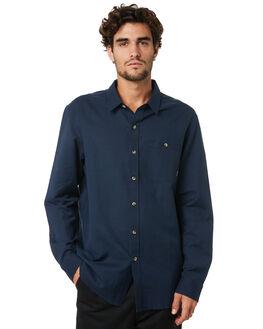 NAVY MENS CLOTHING DEPACTUS SHIRTS - D5204161NAVY