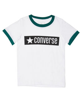 WHITE KIDS BOYS CONVERSE TOPS - R868686001
