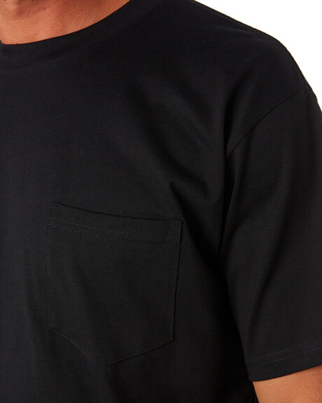 BLACK MENS CLOTHING AS COLOUR TEES - 5027BLACK