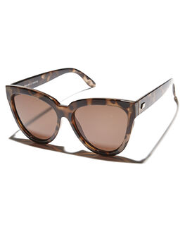 BROWN MONO WOMENS ACCESSORIES LE SPECS SUNGLASSES - LSP1602155BRMON