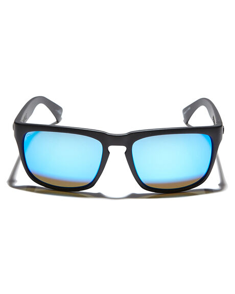 MATTE BLACK BLUE MENS ACCESSORIES ELECTRIC SUNGLASSES - EE09001062MTBLK