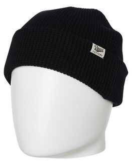 BLACK MENS ACCESSORIES DEUS EX MACHINA HEADWEAR - DMW97880BLK