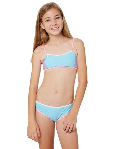 Platypus Australia Girls Athletic Bikini Teens Sherbet
