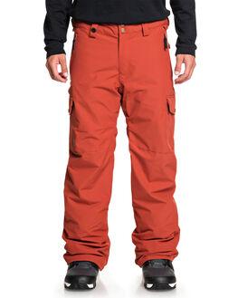BARN RED BOARDSPORTS SNOW QUIKSILVER MENS - EQYTP03118-RQJ0